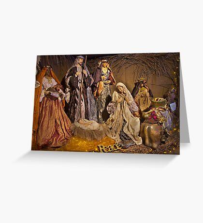 Christmas Lights 3 Greeting Card