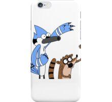 Woooooo! Mordecai & Rigby from the Regular Show iPhone Case/Skin