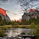 Valley View Sunset by Cat Connor