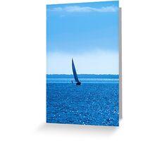 November Sail Greeting Card