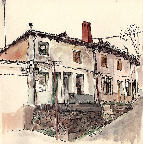Guardo's house by Adolfo Arranz