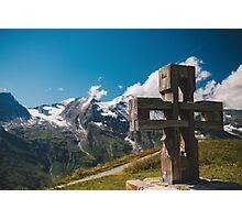 Alp Austria - Mountain - Kreuz Photographic Print