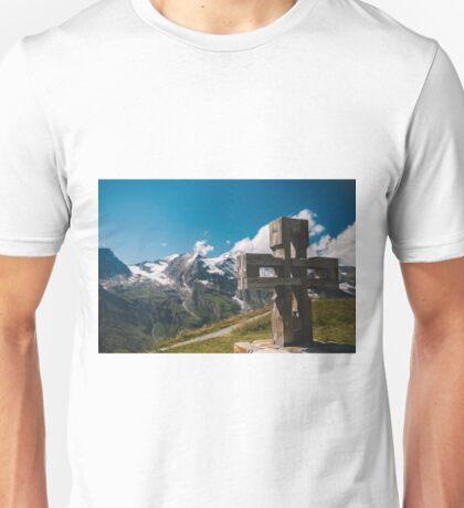Alp Austria - Mountain - Kreuz Unisex T-Shirt