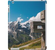 Alp Austria - Mountain - Kreuz iPad Case/Skin