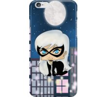 Chibi Black Cat iPhone Case/Skin