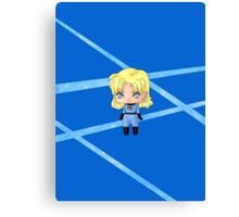 Chibi Invisible Woman Canvas Print