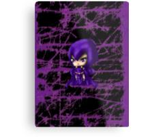 Chibi Raven Metal Print