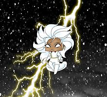 Chibi Storm by artwaste