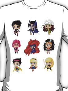 Chibi Heroines 2 T-Shirt