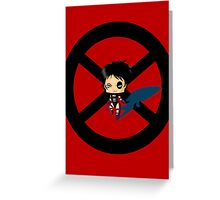 Chibi Domino Greeting Card