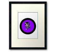 Chibi Huntress Framed Print