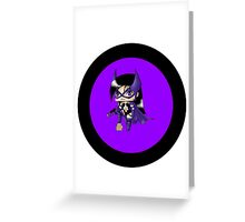 Chibi Huntress Greeting Card