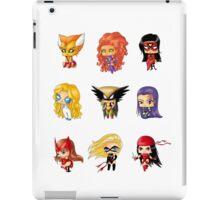 Chibi Heroines 3 iPad Case/Skin