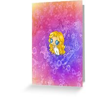 Chibi Dazzler Greeting Card