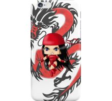 Chibi Elektra iPhone Case/Skin