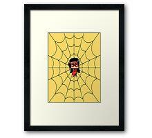 Chibi Spiderwoman Framed Print