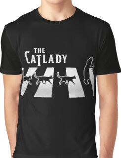 Cat Lady funny parody Graphic T-Shirt