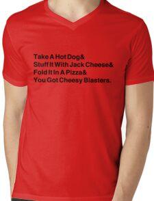 Cheesy Blasters Mens V-Neck T-Shirt