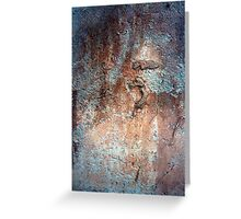 Rock Abstract # 6 Greeting Card