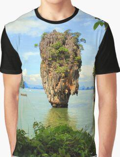 007 island Graphic T-Shirt
