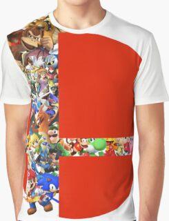 Super Smash Bros characters Graphic T-Shirt