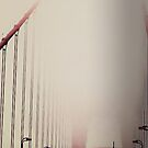 Fog On The Golden Gate by Jessica Britton