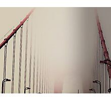Fog On The Golden Gate Photographic Print