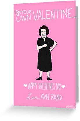 Ayn Rand by Ben Kling