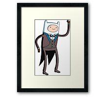 Tuxedo Finn! Framed Print