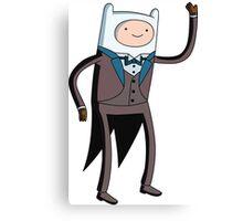 Tuxedo Finn! Canvas Print