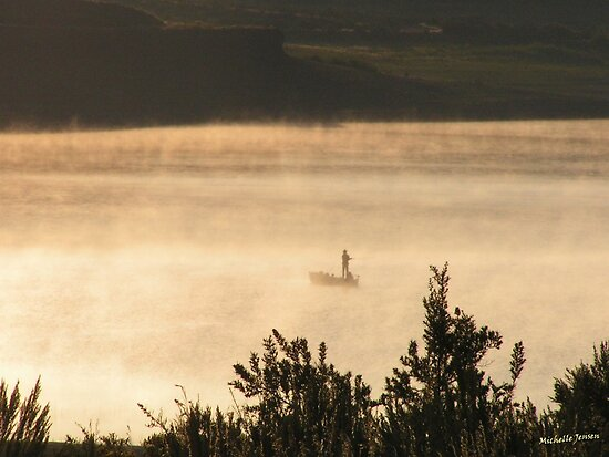 Fisher in the Mist by WishesandWhims