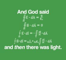 And God Said (Maxwell's equations) Kids Clothes