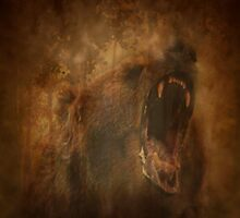 Roaring Brown Bear by WishesandWhims