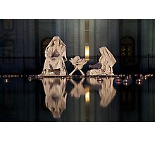 Christmas crib Photographic Print