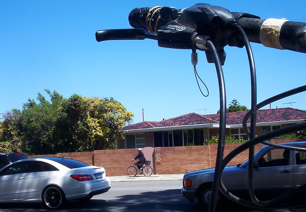Two Bicycles - 22 12 12 by Robert Phillips