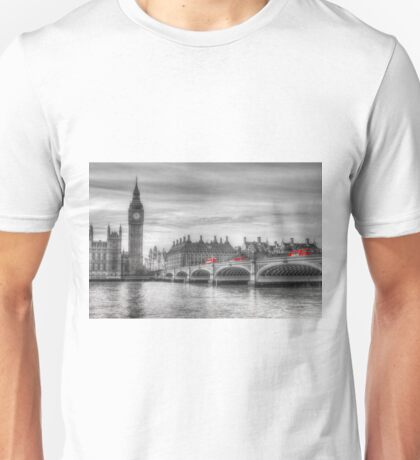 Westminster Bridge and Big Ben Unisex T-Shirt