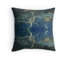 Abstract Beetle Throw Pillow