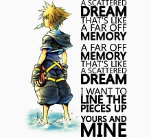 """A scattered dream that's like a far off memory"" Kingdom Hearts T-Shirt"