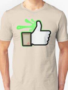 FACEBOOK X GHOSTBUSTERS (GB1 SLIMED) Unisex T-Shirt