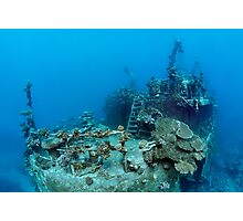 Khanka - The Russian Wreck and Story Photographic Print