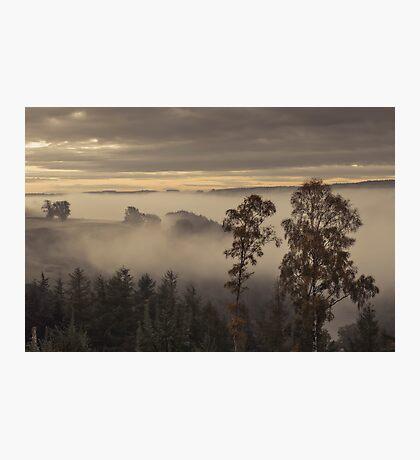 A Misty Eden Valley Photographic Print