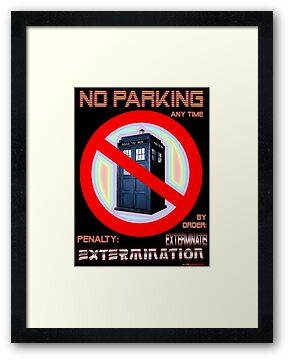 Dalek No Parking Sign Mk.2 by muz2142