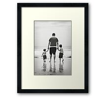 Family love Xx Framed Print