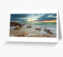 Brighton Jetty, Adelaide, South Australia Greeting Card