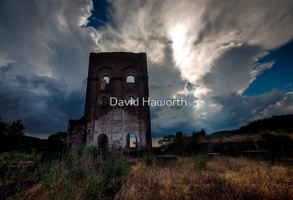 Blast Furnace Christmas Storm by David Haworth