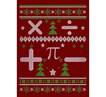 Math Ugly Christmas Sweater  Photographic Print