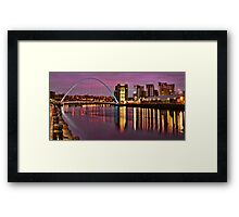 Early Morning in Newcastle Framed Print