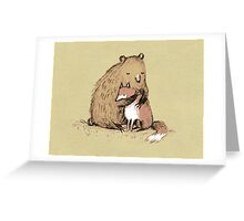 Grizzly Hugs Greeting Card