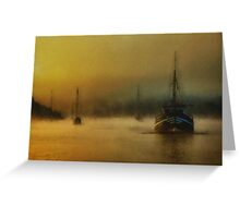 Carina In The Mist Greeting Card