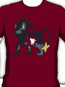 【11700+ views】Pokemon  Shinx>Luxio>Luxray T-Shirt